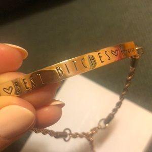 Best bitches forever bracelet